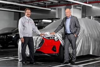 奥迪首款纯电动SUV正式投产 e-tron将于17日亮相