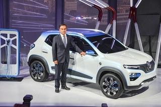巴黎车展雷诺发布电动车K-ZE 2019年国产上市