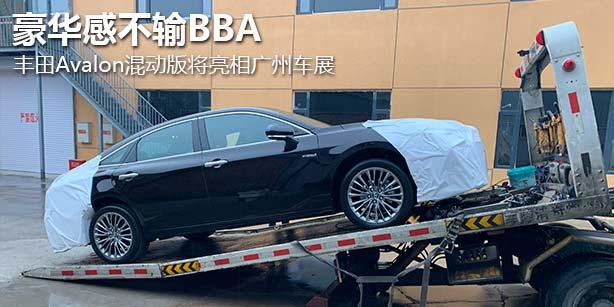 豪华感不输BBA 丰田Avalon混动版将亮相广州车展