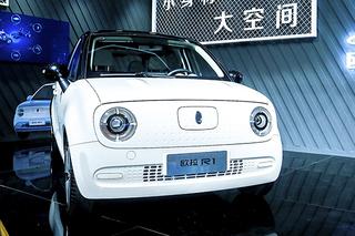 呆萌的纯电动小车! 欧拉R1补贴后售5.98万起