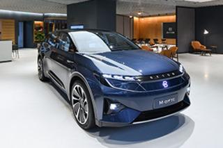 拜腾首家品牌体验店落地上海 量产车于年底交付