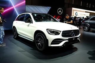 内外均有不同升级 日内瓦车展实拍奔驰新款GLC