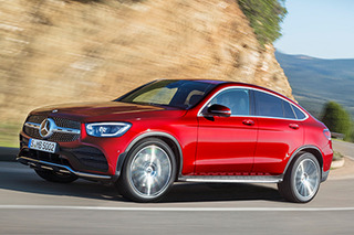 Mercedes-Benz reveals facelifted GLC Coupe