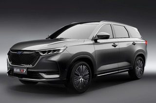 尺寸远超同级! 全新欧尚X7明日上海车展亮相