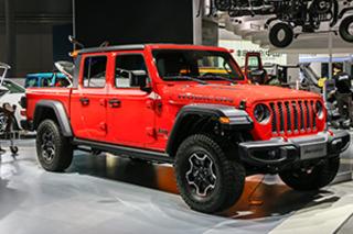 再给野性添把火! 上海车展体验Jeep Gladiator