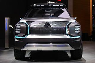 来自未来的混动硬派越野? 实拍三菱e-YI概念车