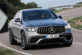 Mercedes-AMG unveils facelifted GLC63