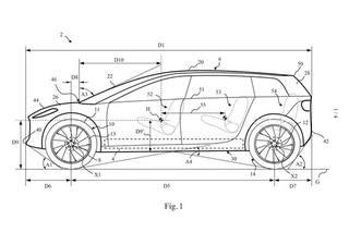 戴森跨界电动车专利图曝光 7座布局/对标特斯拉