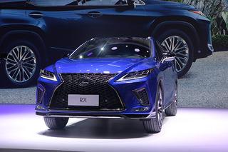 更大氣也更智能 雷克薩斯RX/RX L深港澳車展實拍