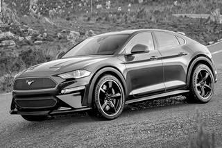 延續Mustang前臉 福特純電動SUV渲染圖曝光