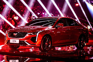 SAIC-GM Cadillac CT4 unveiled
