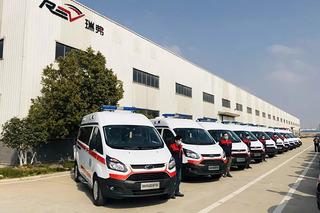 為抗疫情保駕護航 奇瑞瑞弗交付20輛負壓救護車