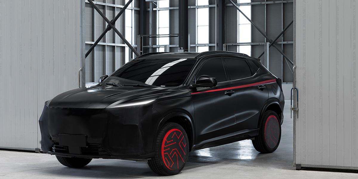 长安欧尚X5预告图发布 外观造型科幻/年内上市