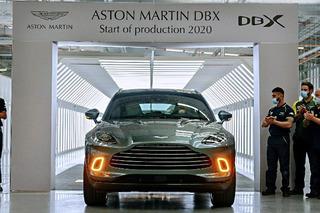 阿斯顿•马丁DBX专业量产下点 名将于第三季度交付