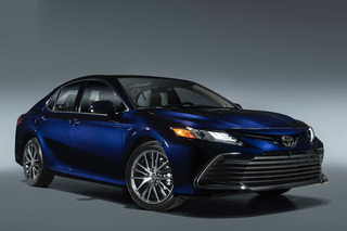 Official photos of the new Toyota Camry revealed