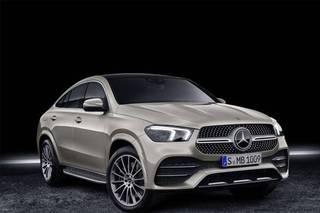 配AMG风格套件 全新GLE轿跑SUV将9月11日上市